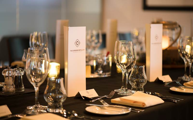 Clydeside Distillery Private Dining 7